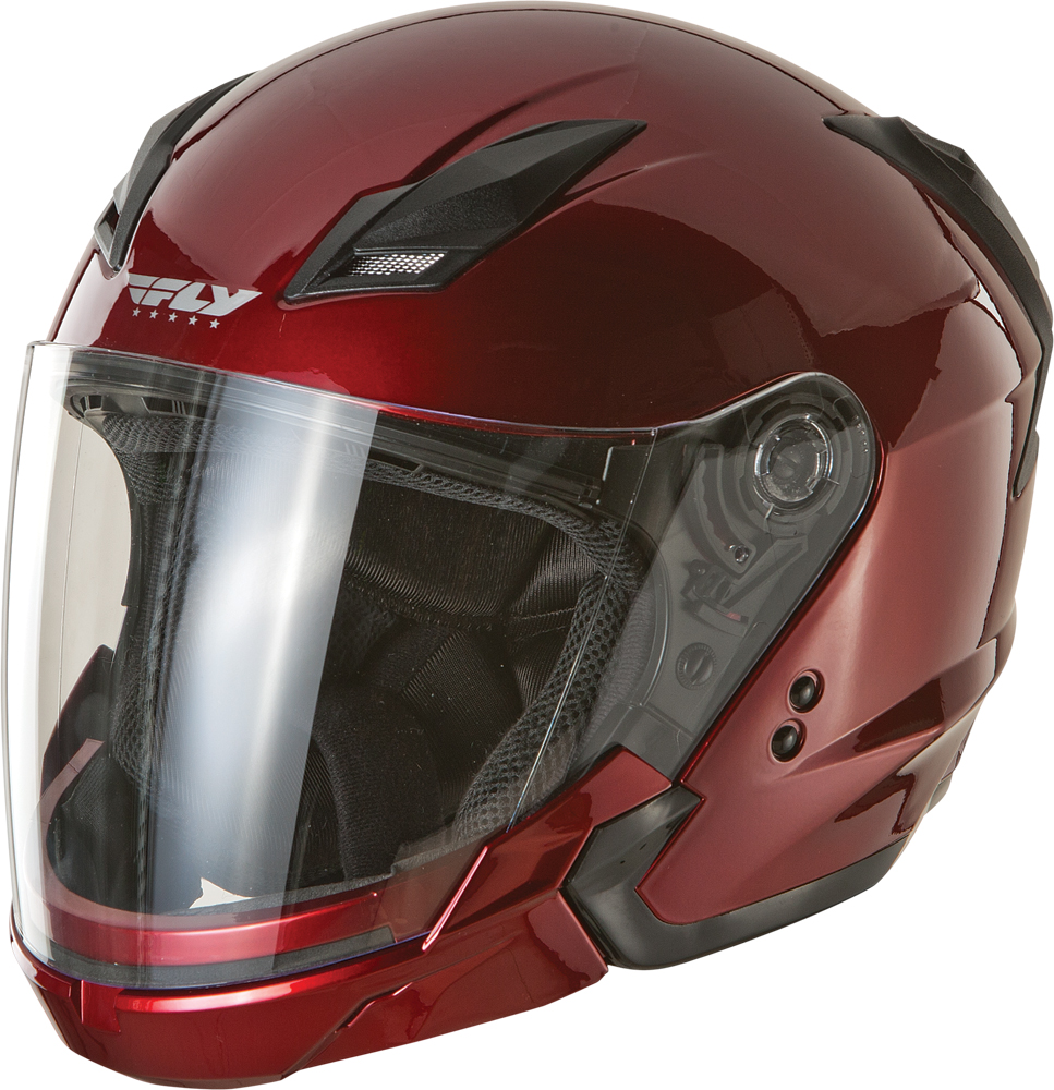 TOURIST HELMET CANDY RED L