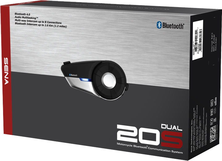 20S BLUETOOTH COMMUNICATION SYSTEM DUAL PACK