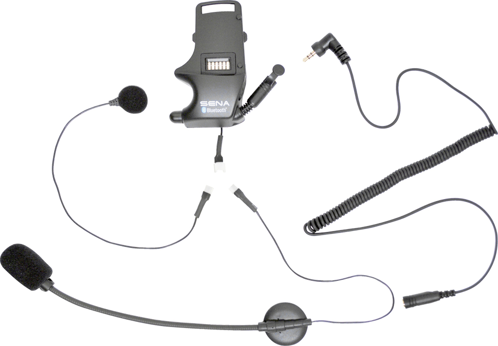 CLAMP KIT FOR EARBUDS ATTACHABLE BOOM/WIRED MIC