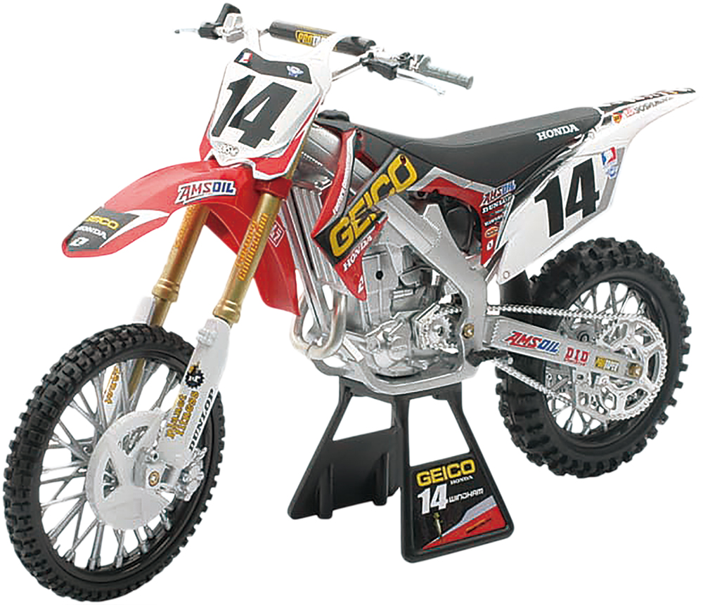 DIE-CAST REPLICA K WINDHAM CRF450 GEICO 12 1:6