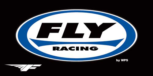 USE BANNER-FLY4 FLY RACING BANNER BLK 3 X6