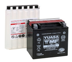 Yuasa Sealed Battery YTX14-BS