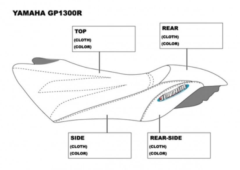 hydro turf mat kit for yamaha gp1300r  all  - gp1200r  00-02   u0026 gp800r  01-05   ht791