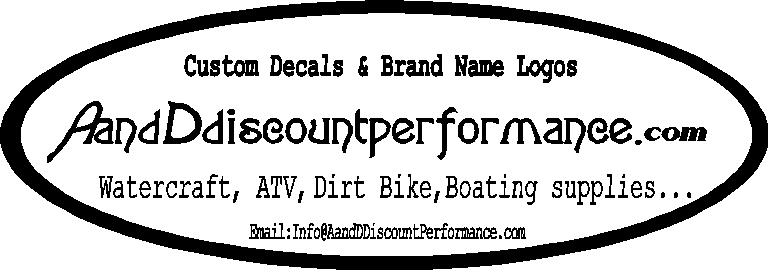 watercraft   a and d discount performance  powersports