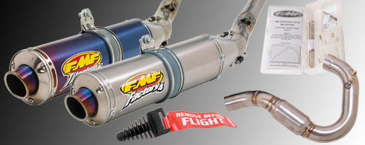 FMF DIRTBIKE 4-STROKE YAMAHA YZ250F 2006 FACTORY 4.1 COMPLETE EXHAUST SYSTEM
