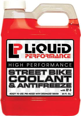 Liquid Performance Street Bike Coolant & Antifreeze 64oz