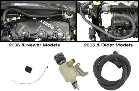 RIVA SEA-DOO 4-TEC CATCH CAN/ENGINE BREATHER KIT [R/ RS19050
