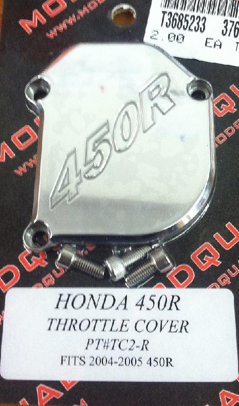 ModQuad Throttle cover for 04-05 Honda 450R