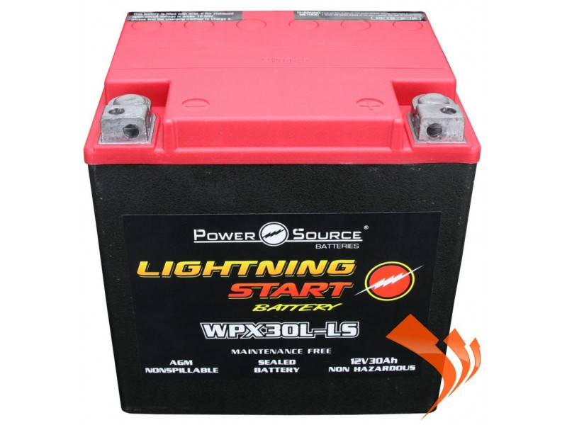 Sealed Power Source Lightning Start Battery WPX30L-LS